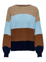 Kids ONLY KONSANDY L/S STRIPE PULLOVER CP KNT