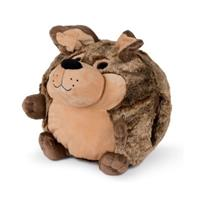 Cozy Noxxiez handwarmer/knuffel Hond junior 35 cm pluche bruin