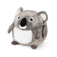 Cozy Noxxiez handwarmer/knuffel Koala junior 35 cm grijs/wit