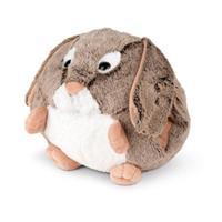 Cozy Noxxiez handwarmer/knuffel Konijn junior 35 cm pluche bruin