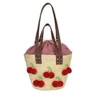 fiftiesstore Gigi Cherry Beach Bag