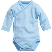 Schnizler romper Wrap Body Basic junior lichtblauw