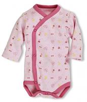 Schnizler romper Wrap Body Rosa junior roze