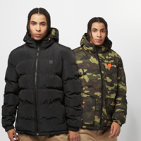 Urban Classics Reversible Hooded Puffer Jacket