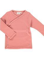 Little Indians Shirt Lange Mouw  - Roze - Katoen