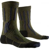 X-Socks Wandelsok men trek x ctn green blue-schoenmaat 39 41