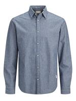 Jack & jones Biologische Katoenmix Overhemd Heren Blauw