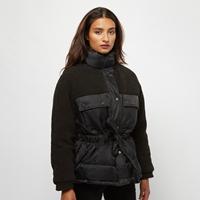 Urban Classics Ladies Sherpa Mix Puffer Jacket