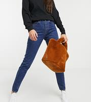 Dr. Denim Dr Denim Tall - Nora - Mom jeans met hoge taille in blauw