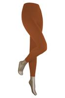 Sarlini Lange dames legging van katoen Brique