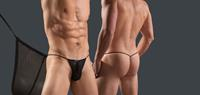 Joe snyder G-string - Tul Negro (055) - One size (ONE)