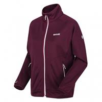 Regatta outdoorjas Cinley II Hybrid dames bordeaux