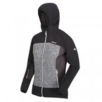 Regatta outdoorjas Garn softshell dames zwart/grijs