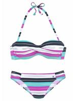S.Oliver Beachwear LM s.Oliver RED LABEL Beachwear beugelbikini in bandeaumodel (2-delig)