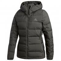 Adidas Women's Helionic Hooded Jacket - Donsjack, zwart