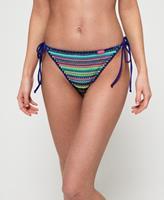 superdry Crochet Carnival Tri bikinibroekje