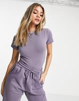 missguided Body in paars, combi-set