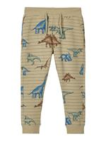 nameit NAME IT Dinosaurusprint Sweatpants Heren Bruin