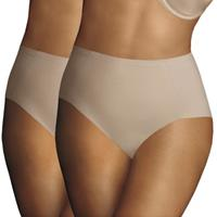 maidenform 2 stuks Sleek Smoothers Tummy Control Brief