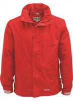 pro-xelements Pro-X Elements regenjas heren polyester rood maat 6XL