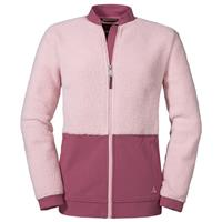 Schöffel - Women's Fleece Jacket Stavanger - Fleecevest, roze/grijs