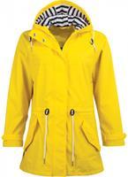 pro-xelements Pro-X Elements regenjas dames met capuchon polyester/polyurethaan geel mt 46