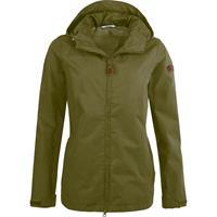 pro-xelements Pro-X Elements outdoorjas Hedda dames polykatoen groen maat 44