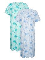 Nachthemd Harmony Mint::Blauw