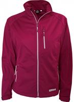 pro-xelements Pro-X Elements soft-shell jack Maike dames polyester bordeaux rood maat 38