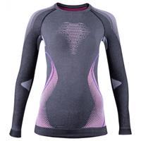 Uyn - Women's Evolutyon UW Shirt Long - Synthetisch ondergoed, grijs/zwart