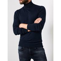 Petrol Knitwear Collar Navy (COL TRUI)