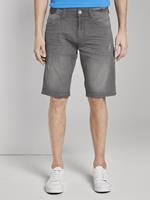 TOM TAILOR Josh Bermuda Jeans, grey denim