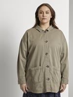 TOM TAILOR MY TRUE ME Veldjas met overhemdkraag, New Light Khaki