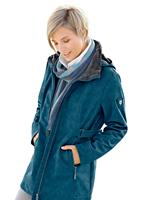 Casual Looks softshell-jack met heerlijk zachte fleece