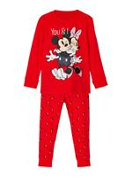 nameit NAME IT Disney Minnie Mouse Pyjama Dames Rood