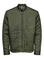 Only & Sons Bomber Gewatteerde Jas Heren Green