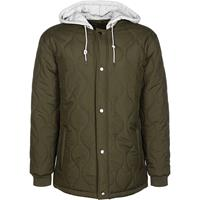 SNIPES Quilted Hooded Jacket