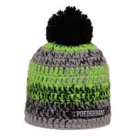Poederbaas Muts short colourful gray black green