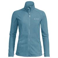 Vaude - Women's Rosemoor Fleece Jacket - Fleecevest, grijs/turkoois/blauw