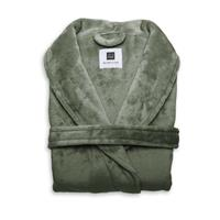 Zo Home Flanel Fleece Badjas Cara - olive green