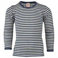 Engel - Kinder Shirt L/S - Merino-ondergoed, grijs/zwart