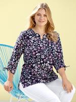 Blouse m. collection Marine::Roze::Wit