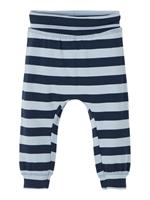 nameit NAME IT Striped Cotton Trousers Heren Blauw