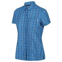 Regatta blouse Mindano V dames polyester blauw