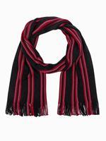 Ombre Fashion Heren sjaal stijlvol online kopen | Italian-Style.nl | streep patroon | Rood
