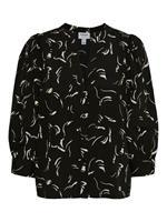 Vero Moda Long Sleeved Shirt Dames Zwart