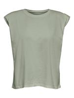 ONLY T-shirt OnlAmy Padded Shoulder S/L DNM Tee 15225907