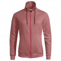 Vaude - Women's Redmont Cotton Jacket - Hoodie, rood/roze