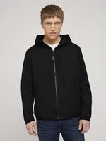 TOM TAILOR DENIM lichte overgang jas, Black