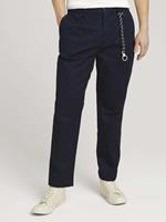 TOM TAILOR DENIM Relaxed Fit Chino broek, Sky Captain Blue